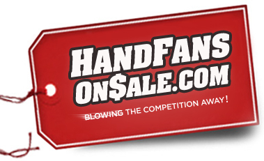 Hand Fans On Sale - The most affordable and reliable producer of quality, hand fans on the web