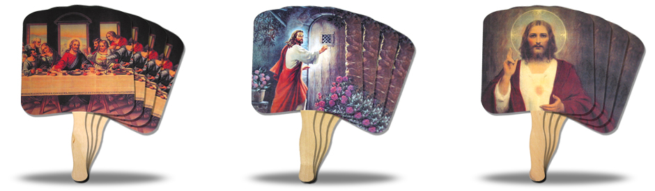 Religious Hand Fans